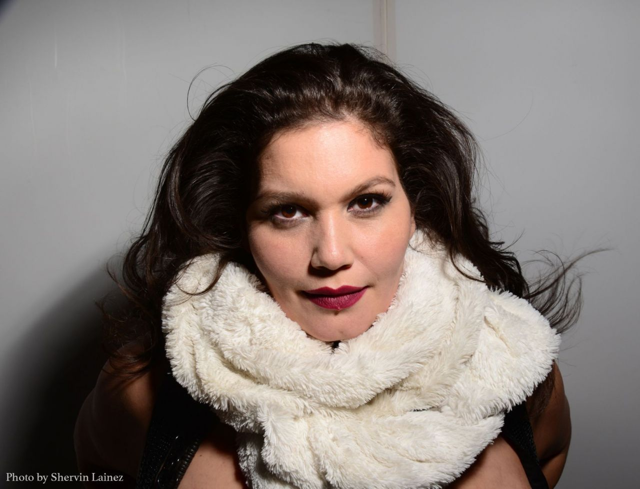 foto zpěvačky