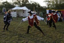 Černošická Alotria : vystoupení skupin historického šermu