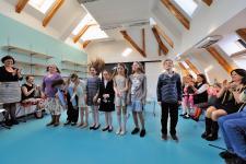 Nová půdní vestavba Základní školy